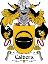 Caldera Family Crest / Coat of Arms JPG or PDF Image Download - $6.99