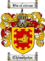 Primary image for Chissholm Family Crest / Coat of Arms JPG or PDF Image Download