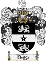 Clegge Family Crest / Coat of Arms JPG or PDF Image Download - $6.99
