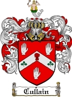 Primary image for Cullain Family Crest / Coat of Arms JPG or PDF Image Download