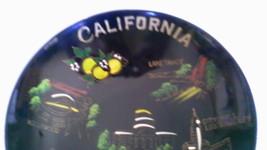 Vintage California Hand Painted Souvenir Bowl Home Decor - $29.99