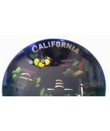 Vintage California Hand Painted Souvenir Bowl Home Decor - $29.99