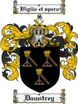 Dauntrey Family Crest / Coat of Arms JPG or PDF Image Download - $6.99