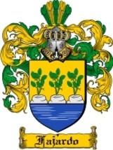 Fajardo Family Crest / Coat of Arms JPG or PDF Image Download - $6.99
