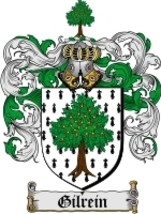Gilrein Family Crest / Coat of Arms JPG or PDF Image Download - $6.99