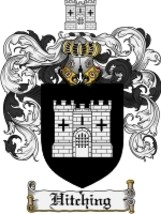 Hitching Family Crest / Coat of Arms JPG or PDF Image Download - $6.99