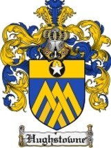 Hughstowne Family Crest / Coat of Arms JPG or PDF Image Download - $6.99