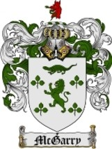 Mcgarry Family Crest / Coat of Arms JPG or PDF Image Download - $6.99