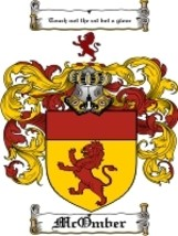 Mcomber Family Crest / Coat of Arms JPG or PDF Image Download - $6.99