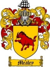 Mealey Family Crest / Coat of Arms JPG or PDF Image Download - $6.99