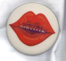 Vintage Advertising Motion Art Pin Red Lips Dekuyper Pucker-Up Bar Promo... - $14.99