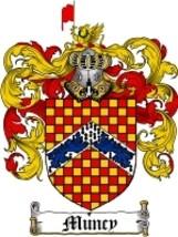 Muncy Family Crest / Coat of Arms JPG or PDF Image Download - $6.99