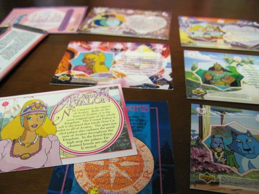 Princess Gwenevere and the Jewel Riders Trading Cards Series Lot + wrapper Rare!