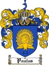 Paulus Family Crest / Coat of Arms JPG or PDF Image Download - $6.99