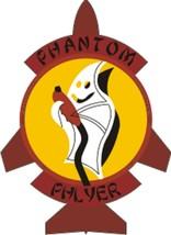 "Official USAF Phantom Phlyer Decal 2.91"" Wide x 4"" High - $11.87"