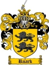 Ruark Family Crest / Coat of Arms JPG or PDF Image Download - $6.99