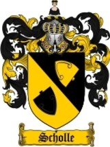 Scholle Family Crest / Coat of Arms JPG or PDF Image Download - $6.99