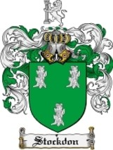 Stockdon Family Crest / Coat of Arms JPG or PDF Image Download - $6.99