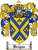 Primary image for Brogen Family Crest / Coat of Arms JPG or PDF Image Download