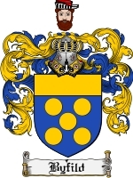 Primary image for Byfild Family Crest / Coat of Arms JPG or PDF Image Download
