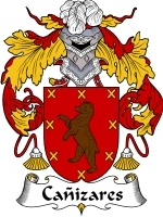 Primary image for Canizares Family Crest / Coat of Arms JPG or PDF Image Download