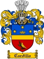 Primary image for Cardillo Family Crest / Coat of Arms JPG or PDF Image Download