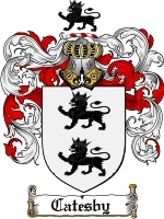 Primary image for Catesby Family Crest / Coat of Arms JPG or PDF Image Download