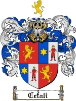 Primary image for Cefali Family Crest / Coat of Arms JPG or PDF Image Download