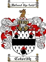Primary image for Ceterith Family Crest / Coat of Arms JPG or PDF Image Download