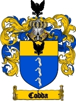 Codda Family Crest / Coat of Arms JPG or PDF Image Download