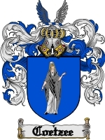 Primary image for Coetzee Family Crest / Coat of Arms JPG or PDF Image Download