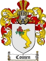 Cousen coat of arms download