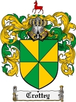 Primary image for Crottey Family Crest / Coat of Arms JPG or PDF Image Download
