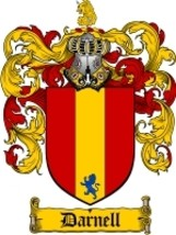 Darnell Family Crest / Coat of Arms JPG or PDF Image Download - $6.99