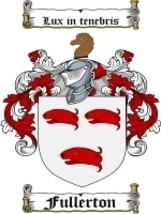 Fullerton Family Crest / Coat of Arms JPG or PDF Image Download - $6.99
