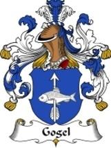 Gogel Family Crest / Coat of Arms JPG or PDF Image Download - $6.99