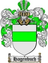 Hagenbuch Family Crest / Coat of Arms JPG or PDF Image Download - $6.99