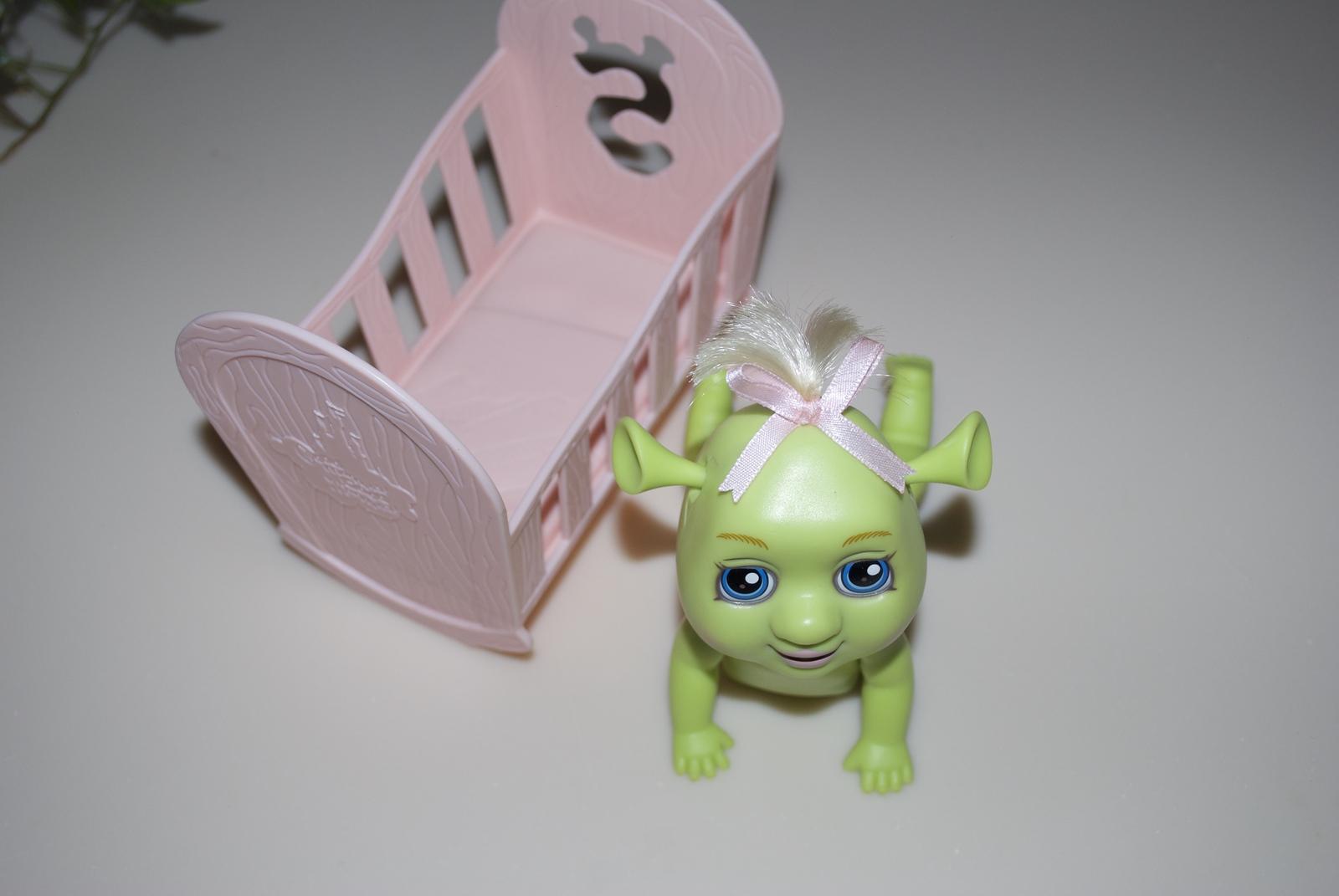 McDonalds 2007 Collectible Shrek the Third Glass Triplete Ogre Babies