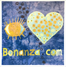 Eye Heart Bonanza Sticker - Freebie