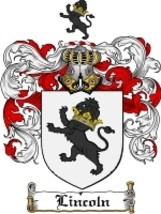 Lincoln Family Crest / Coat of Arms JPG or PDF Image Download - $6.99