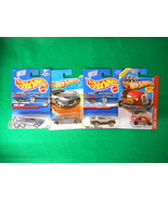 Hot Wheels In Original Package 4 Different Lot4 - $6.46