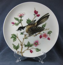 Black Capped Chickadee Fitz & Floyd Songbirds Collector Plate Porcelain - $17.95