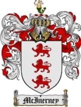Mcinerney Family Crest / Coat of Arms JPG or PDF Image Download - $6.99