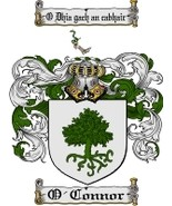 O'Connor Family Crest / Coat of Arms JPG or PDF Image Download - $6.99