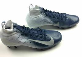 Nike Vapor Untouchable Pro 3 Football Cleat Men's US 11 Navy White 917165 - $61.67