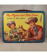 Vintage 1957 Roy Rogers and Dale Evans Double R Ranch Lunchbox With Ther... - $138.97