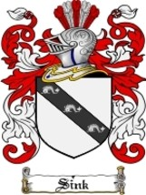 Sink Family Crest / Coat of Arms JPG or PDF Image Download - $6.99