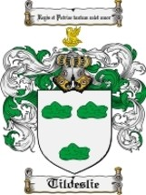 Tildeslie Family Crest / Coat of Arms JPG or PDF Image Download - $6.99