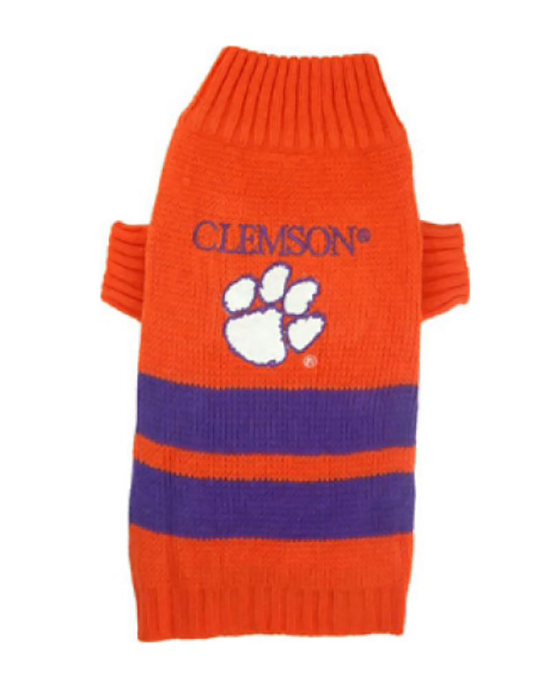 Primary image for Pets First Clemson Dog Sweater Medium 1288-14269004389-M