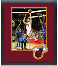 Goran Dragic 2015-16 Miami Heat -  11x14 Team Logo Matted/Framed Photo - $42.95